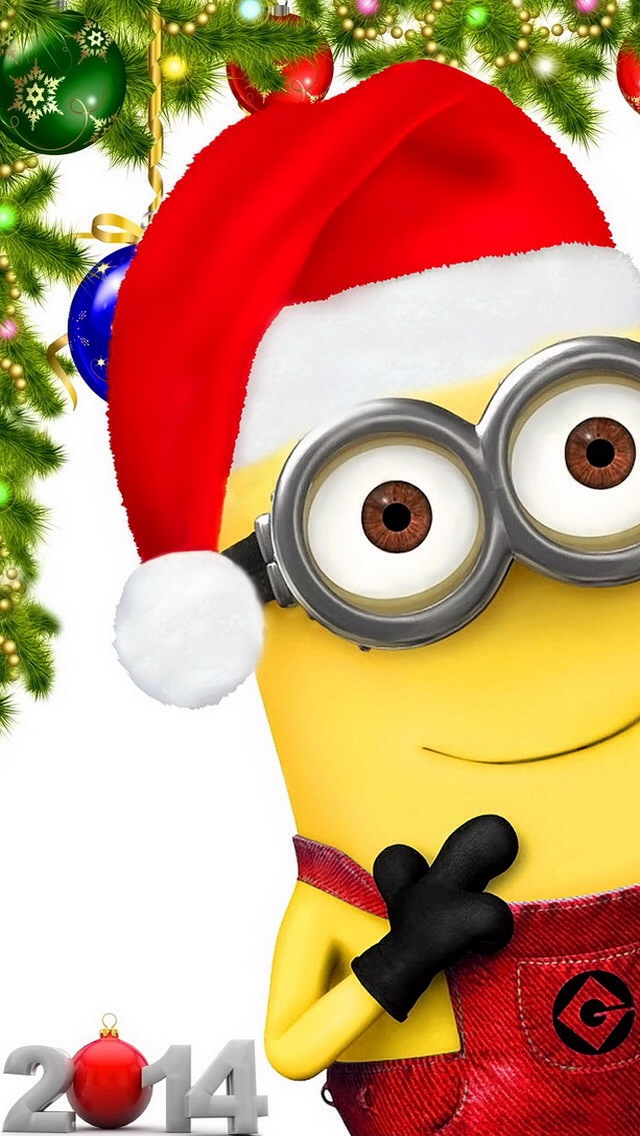 Minions do their own brand of carol singing in funny ...