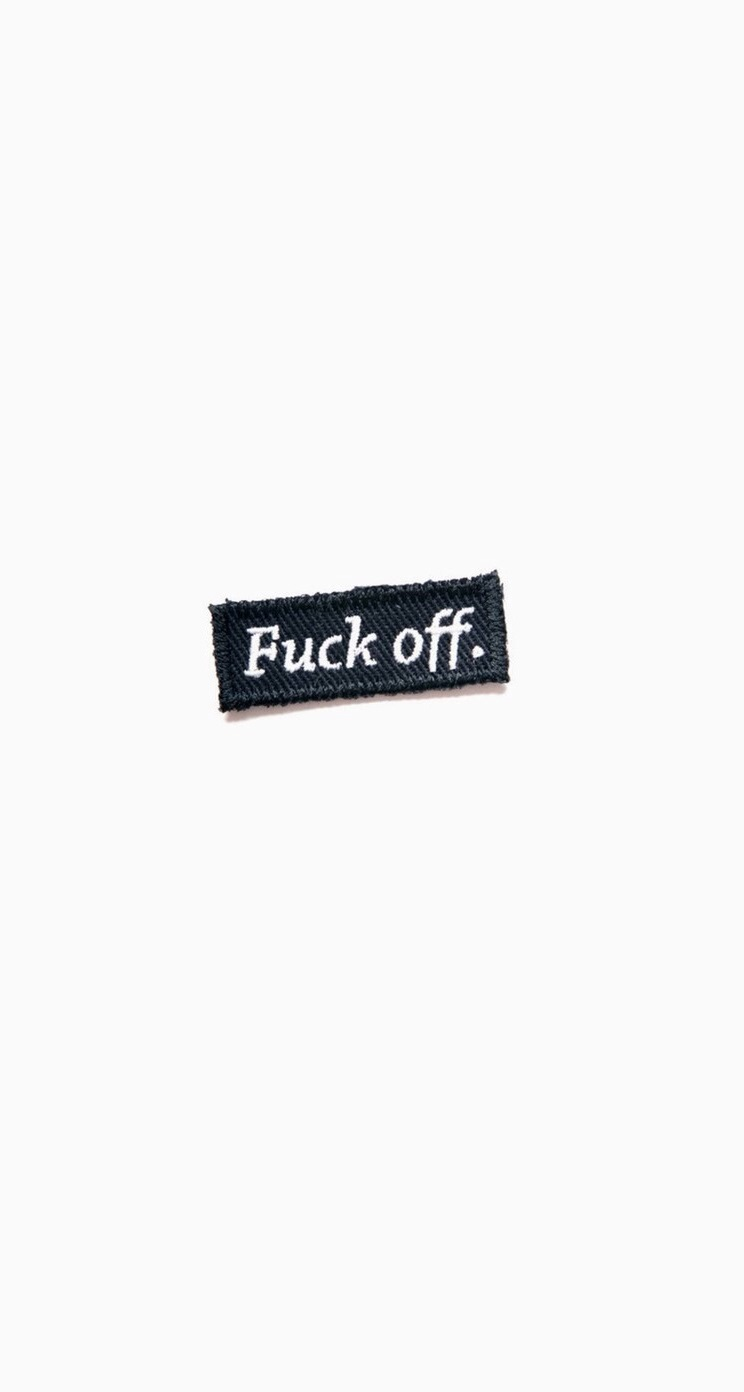 Fuck Off Quotes Iphone 5 Wallpaper